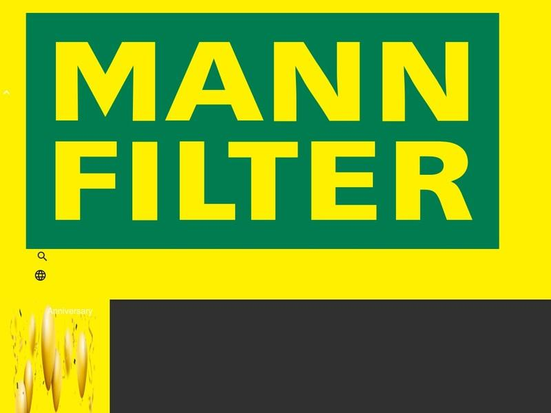 Screenshot von www.mann-filter.com